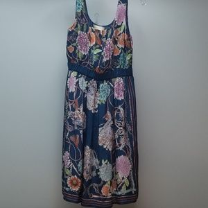 MOULINETTE SOEURS | BEAUTIFUL FLORAL DRESS, SZ XS